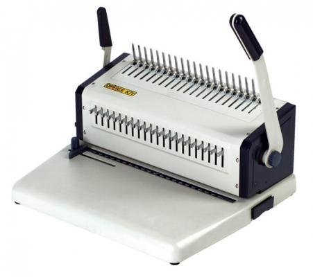 Переплетчик Office Kit B2125 A4 перфорирует 25 листов сшивает 500 листов пластиковые пружины 4.5-51мм переплетчик gbc combbind c366 a3 перфорирует 30 листов сшивает 450 листов пластиковые пружины 2101434