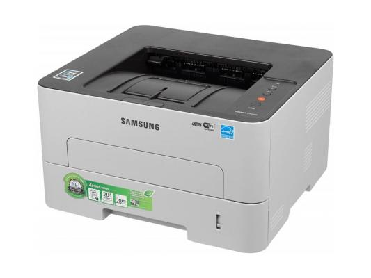 Принтер Samsung SL-M2830DW ч/б A4 28стр.мин 4800x600dpi дуплекс Ethernet  Wi-Fi USB SL-M2830DW/XEV