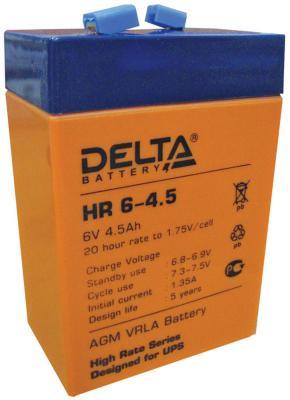Батарея Delta HR 6-4.5 4.5Ач 6Bт цена