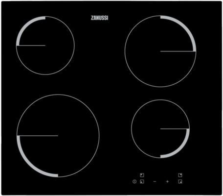 Варочная панель электрическая Zanussi ZEV56240FA черный ювелирное изделие 124289
