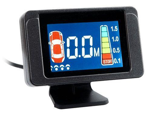 Парктроник Sho-Me Y-2612N08 серебристый цена