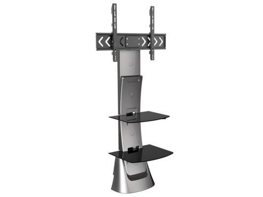 Кронштейн ARM Media TRITON-10  серый для LCD/LED ТВ 37-70 настенный наклон -10°/+5° поворот 8° VESA 200х100 max 40 кг кронштейн для тв и панелей напольный arm media triton 30 32 70 черный 10128