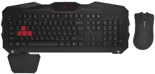 лучшая цена Комплект A4Tech Bloody Q2100/В2100 черный USB