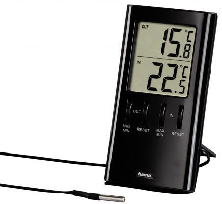 Термометр Hama TH-350 H-123143 черный