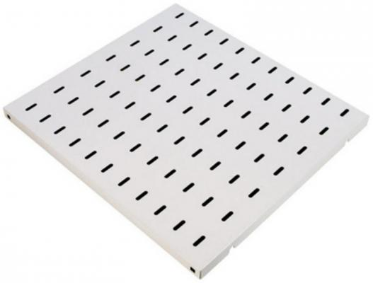 Полка стационарная Estap M44SBR80G до 50кг для шкафа глубиной 800мм перфорированная серый 525х465мм