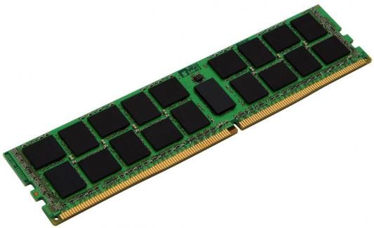 Оперативная память 16Gb (1x16Gb) PC4-17000 2133MHz DDR4 DIMM ECC Buffered CL15 Kingston KVR21R15D4/16 серверная память kingston kvr21r15d4 16 16gb