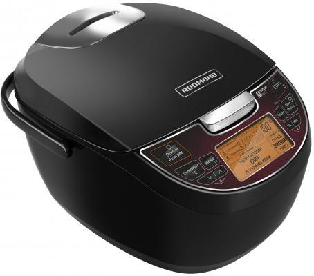Мультиварка Redmond RMC-260 900Вт 5л черный цены