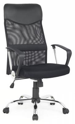 Кресло руководителя College H-935L-2 ткань крестовина хромированный металл подлокотники пластик черный