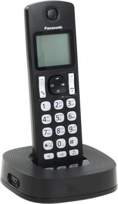Радиотелефон DECT Panasonic KX-TGC310RU1 черный радиотелефон dect panasonic kx tg6712rum серый