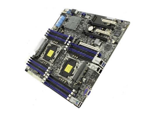 Материнская плата для ПК ASUS Z10PE-D16 2 х Socket 2011-3 C612 4xDDR4 3xPCI-E 16x 2xPCI-E 8x 10xSATAIII SSI EEB Retail
