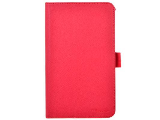 Чехол IT BAGGAGE для планшета Asus Fonepad 7 FE170CG ME170С искуственная кожа красный ITASFE1702-3 чехол it baggage для планшета lenovo yoga tablet 2 8 искуственная кожа красный itlny282 3