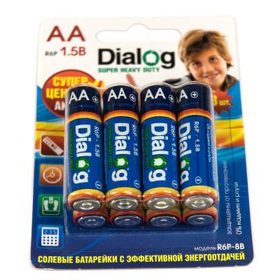 Батарейки Dialog R6P-8B AA 8 шт