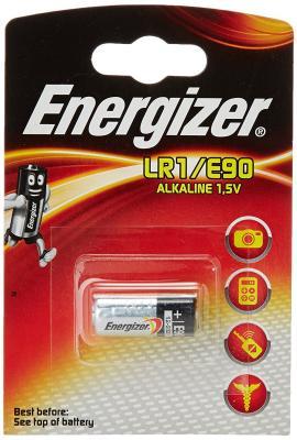 Батарейки LR1 Energizer Classic 1шт 608306 lr1 e90 energizer alkaline 1 штука