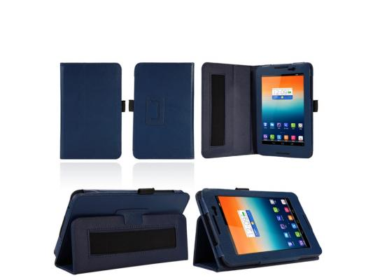 Чехол IT BAGGAGE для планшета Lenovo Tab A7-50 A3500 7 искуственная кожа синий ITLNA3502-4 new 7 inch for lenovo tab a7 50 a3500 a3500 hv touch screen panel with digitizer front glass lens free shipping