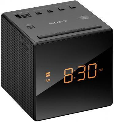 Часы с радиоприемником Sony ICF-C1 черный радиобудильник sony icf c1