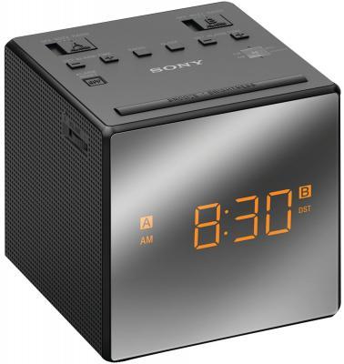 Часы с радиоприемником Sony ICF-C1T черный цена
