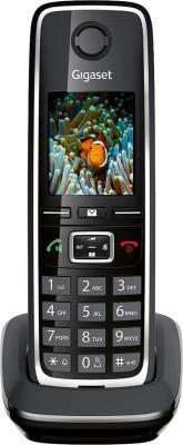Радиотелефон DECT Gigaset C530H черный дополнительная трубка gigaset a220h для a220