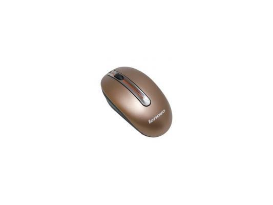 Мышь беспроводная Lenovo N3903 Coffee коричневый USB 888011629