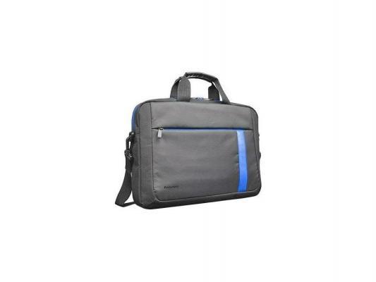 """Сумка для ноутбука 15.6"""" Lenovo T2050 синтетика черный синий"""