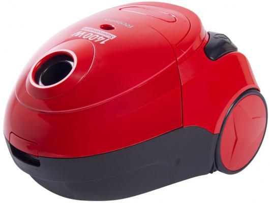 Пылесос Rolsen T-1948P с мешком сухая уборка 1400Вт красный