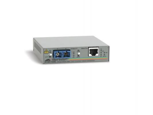 Медиаконвертер Allied Telesis AT-MC103XL-yy 100BaseTX to 100BaseFX SC Singlemode 15km