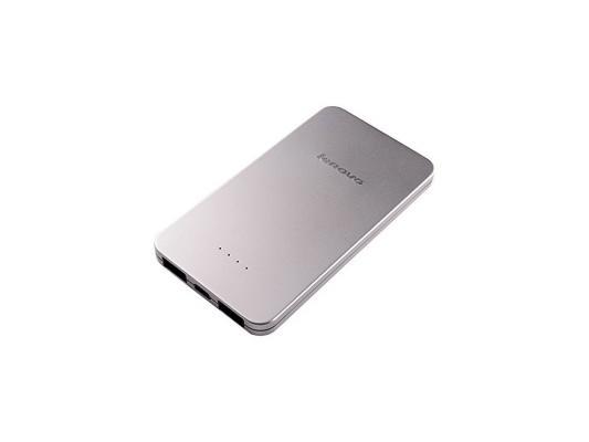 Портативное зарядное устройство Lenovo PowerBank PB410 5000мАч серебристый 888016288