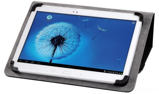 """Чехол HAMA универсальный для планшетов с экраном 10"""" черный 00135504"""