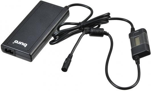 Блок питания для ноутбука Buro BUM-1284B90 11 переходников 90Вт блок питания для ноутбука buro bum 1130m90 11 переходников 90вт