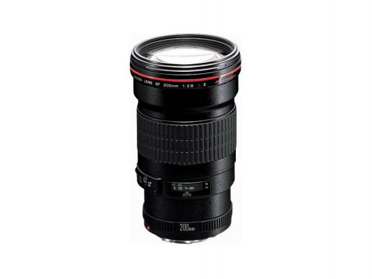 Объектив Canon EF 200mm f/2.8L II 2529A015 объектив canon ef 24mm f 2 8 is usm черный