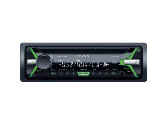 Автомагнитола SONY CDX-G1100UE USB MP3 CD FM RDS 1DIN 4x55Вт черный