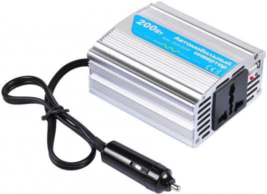 Автомобильный инвертор напряжения Buro BUM-8103CI200 200Вт автомобильный