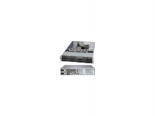 Серверный корпус SuperMicro CSE-825TQ-R500WB 2U E-ATX 13.68''x13' 8x3.5'' HotSwap SAS/SATA SES2 500Вт черный