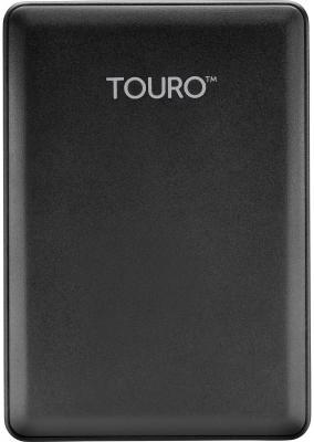 """Внешний жесткий диск 2.5"""" USB3.0 1 Tb Hitachi Touro Mobile HTOLMU3EA10001ABB 0S03802 черный"""