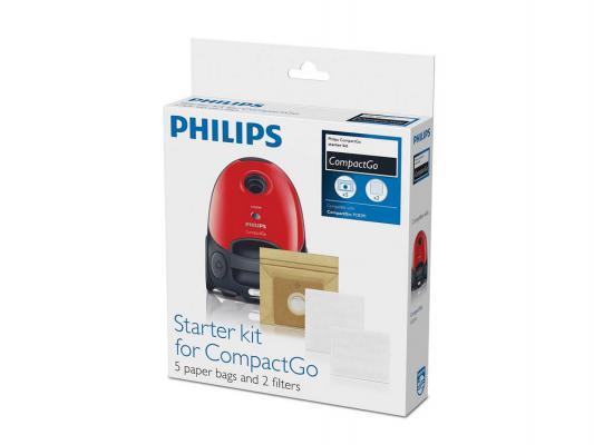 Набор аксессуаров Philips FC8018/01 5 мешков 2 фильтра для мотора