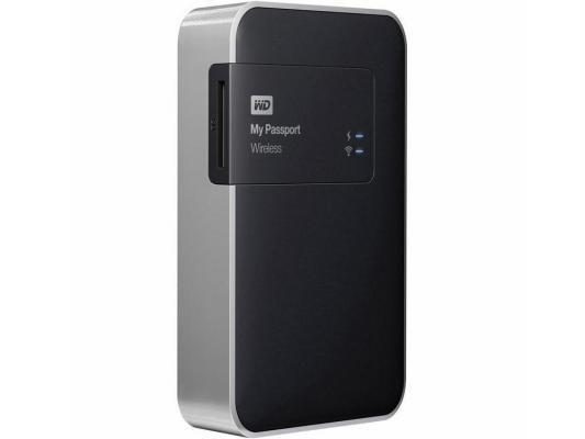 "Внешний жесткий диск 2.5"" USB3.0 2 Tb Western Digital My Passport Wireless WDBDAF0020BBK-EESN черный"