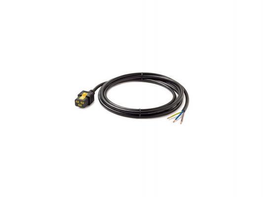 Кабель APC Power Cord Locking C19 to Rewireable 3.0м AP8759