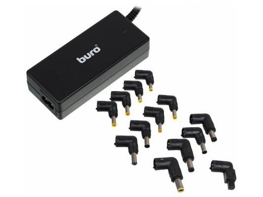 Картинка для Блок питания для ноутбука Buro BUM-0054B65 11 переходников 65Вт черный