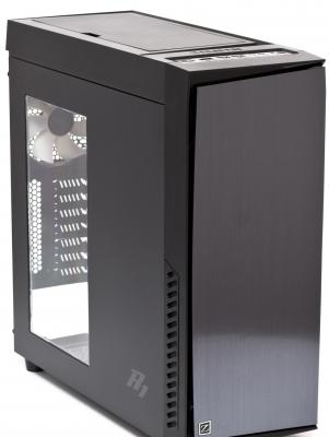 Корпус ATX Zalman R1 Без БП чёрный