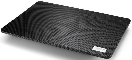 Подставка для ноутбука 15.6 Deepcool N1 Black 350x260x26mm 1xUSB 700g 16-20dB черный подставка для ноутбука 14 deepcool n17 330x250x25mm 1xusb 465g 21db синий