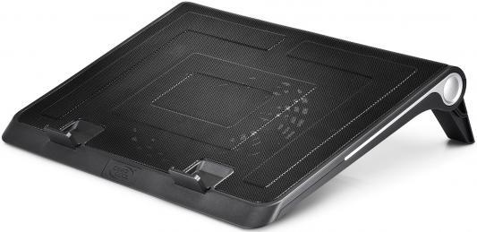 """цена Подставка для ноутбука 17"""" Deepcool N180 FS 380x296x46mm 1xUSB 922g 20dB черный"""