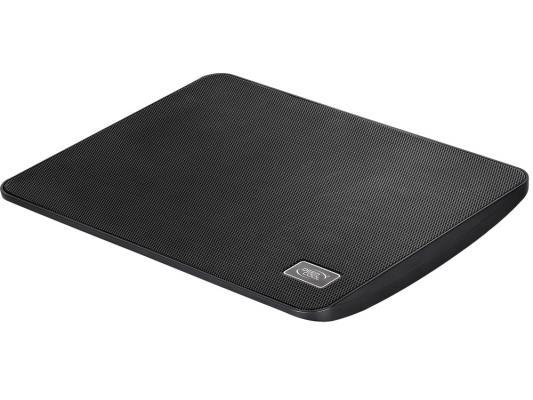 """Подставка для ноутбука 15.6"""" Deepcool WIND PAL MINI 340х250х25mm 1xUSB 575g 21.6dB черный"""