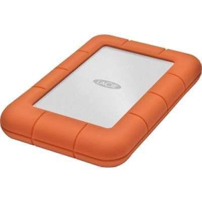 """Внешний жесткий диск 2.5"""" USB3.0 2Tb Lacie Rugged Mini 9000298 оранжевый"""