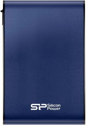 """Внешний жесткий диск 2.5"""" USB3.0 2 Tb Silicon Power Armor A80 SP020TBPHDA80S3B синий"""