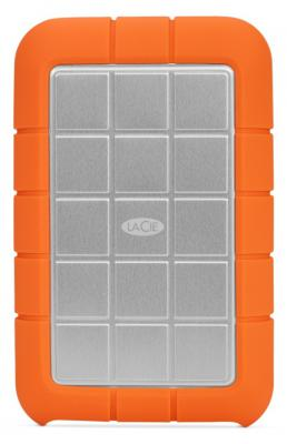 "Внешний жесткий диск 2.5"" USB3.0 2Tb Lacie Rugged Triple USB 3.0 9000448 оранжевый цена и фото"