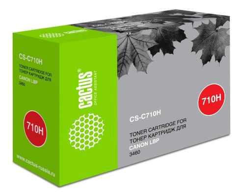 Картридж Cactus CS-C710H для Canon LBP3460 черный 12000стр
