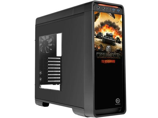 Корпус ATX Thermaltake Urban S71 World of Tanks Без БП чёрный VP500M1W2N-B