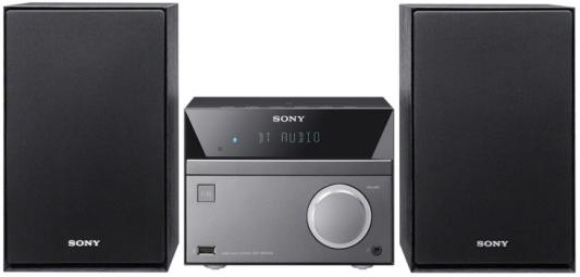Микросистема Sony CMT-SBT40D черный sony cmt x3cd black микросистема