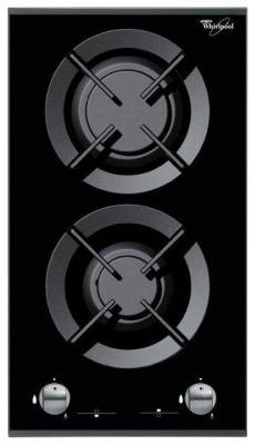 Варочная панель газовая Whirlpool AKT 352/IX черный электрическая варочная панель whirlpool akt 315 ix