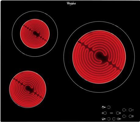 Варочная панель электрическая Whirlpool AKT 8030/NE черный варочная панель электрическая whirlpool akt 8210 lx