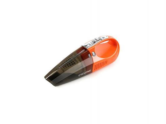 Автомобильный пылесос Rolsen RVC-200 без мешка сухая уборка 100Вт оранжевый
